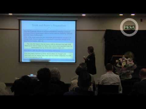 Dr Catherine Legg - Charles Peirce's Limit Concept of Truth