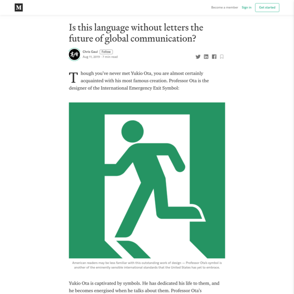 Is this language without letters the future of global communication?