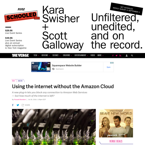 Using the internet without the Amazon Cloud