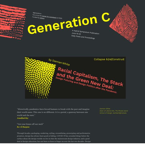 Damian White | Generation C