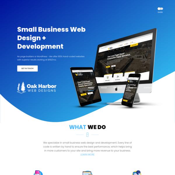 Small Business Web Design + Development
