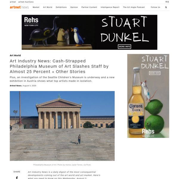 Art Industry News: Cash-Strapped Philadelphia Museum of Art Slashes Staff by Almost 25 Percent + Other Stories   artnet News