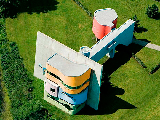 John Hejduk, Wall house #2 (2001)