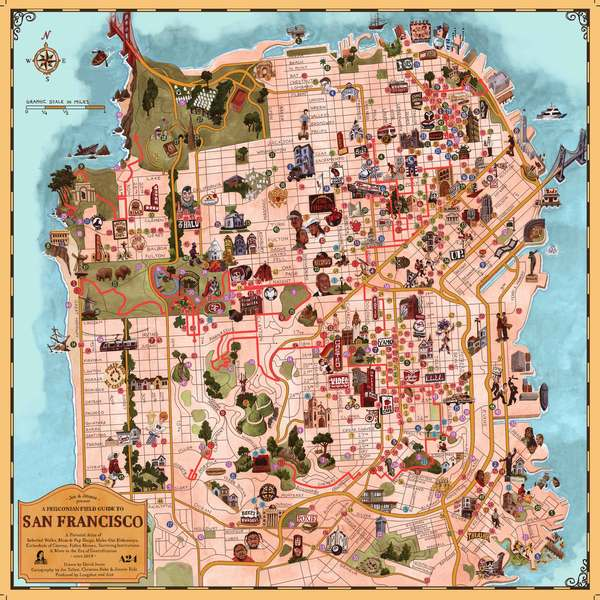A Map to a Lost City [San Francisco]