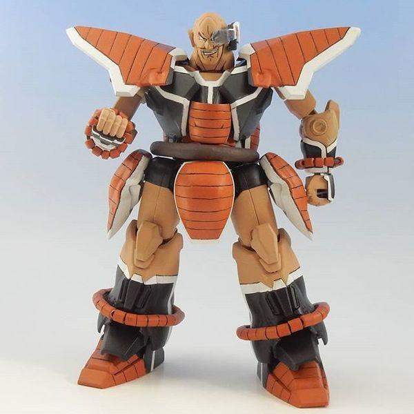 Gundam Nappa @kyo512a #gunplapic #plamodel1 #plamodel #plasticmodel #japan #dragonballz #otaku #scalemodel #scalemodel #robo...