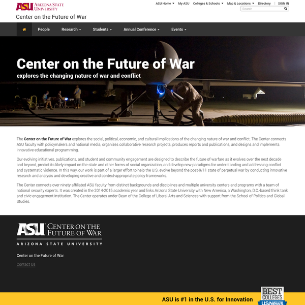 Center on the Future of War