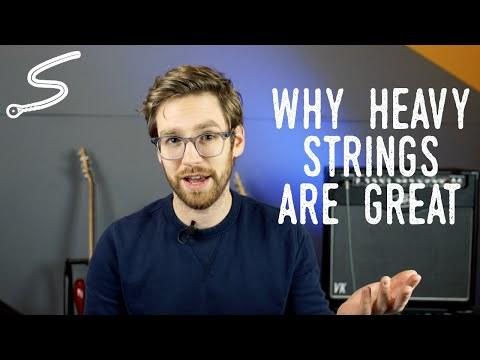 In Defense of Heavy Guitar Strings