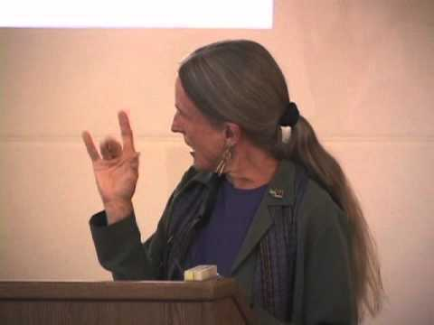 Donna Haraway presented her lecture as the 2003-2004 Avenali Chair in the Humanities at the Townsend Center for the Humanities, UC Berkeley. Haraway is a prominent theorist of the relationships between people and machines, and her work has incited debate in fields as varied as primatology, philosophy, and developmental biology.