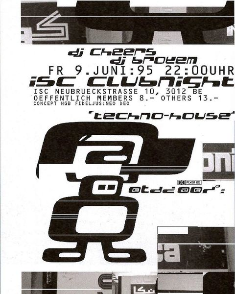 #timemachine: #clubnight #flyerdesign 1995 for @iscbern #bern unearthed on y2kaestheticinstitute https://cutt.ly/Rszsh5x . ....