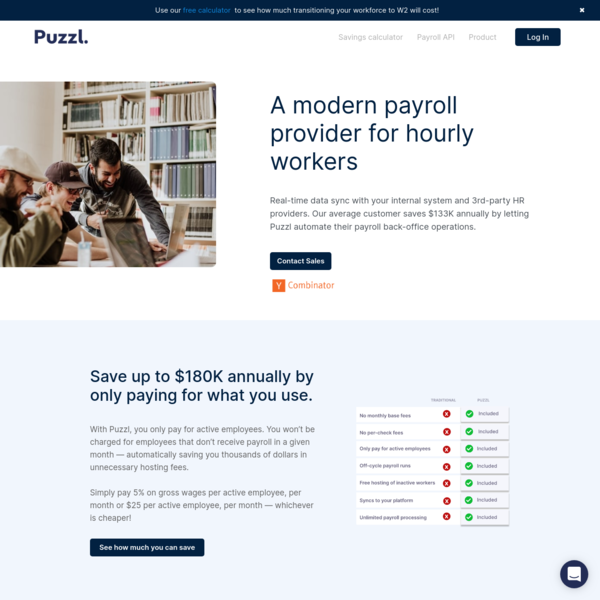 Automated Payroll - Pay Your Hourly Workers