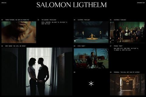 Portfolio for Director Salomon Ligthelm (@salomonligthelm) 🎥🎬 Made in collaboration with @guicolombel. Out now ↳ ligthelm.work