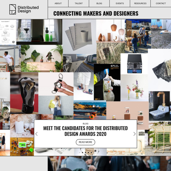 Connecting Makers and Designers - Distributed Design Market Platform