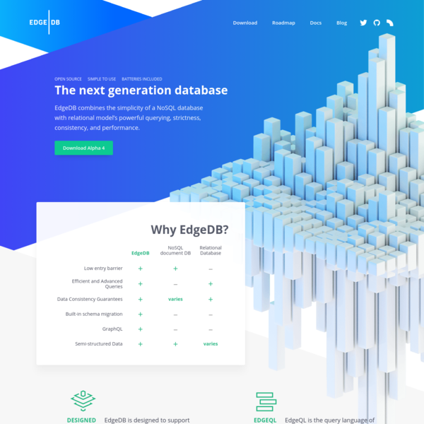EdgeDB-The next generation database
