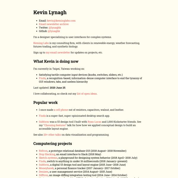 Kevin Lynagh