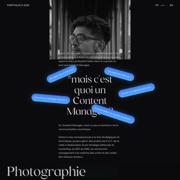 Thomas Bosc | Content Manager à Paris