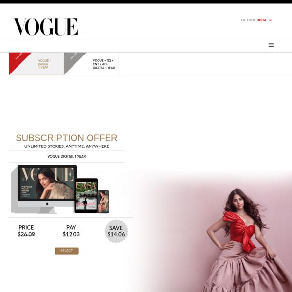 Subscription CNI   Vogue India