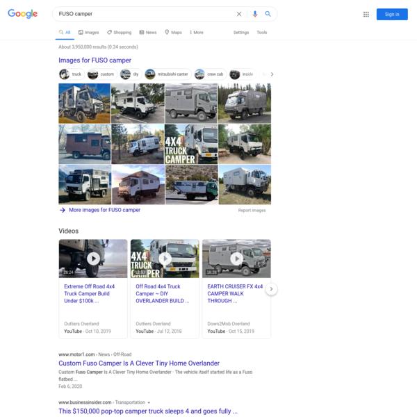 FUSO camper - Google Search