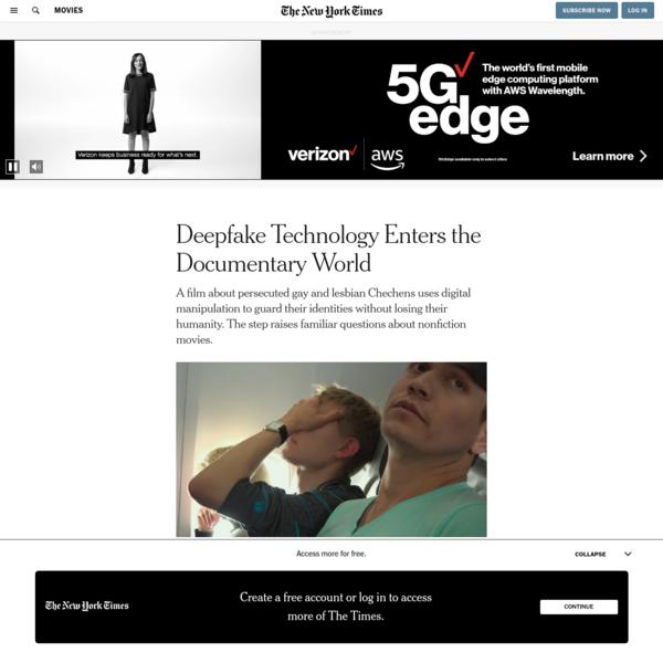 Deepfake Technology Enters the Documentary World