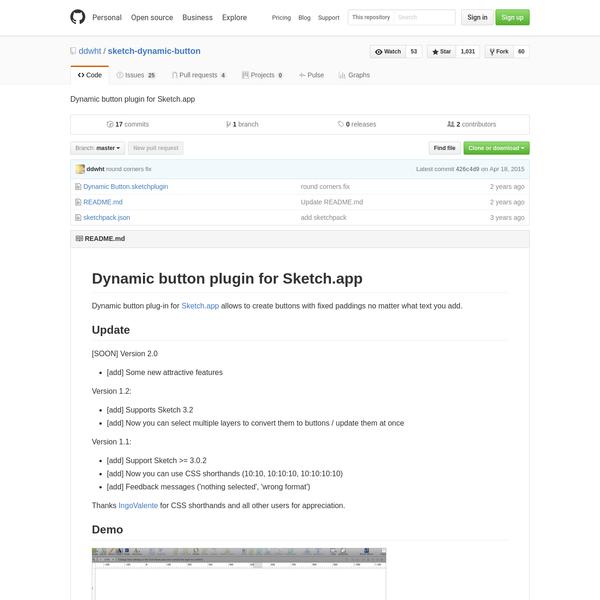 sketch-dynamic-button - Dynamic button plugin for Sketch.app