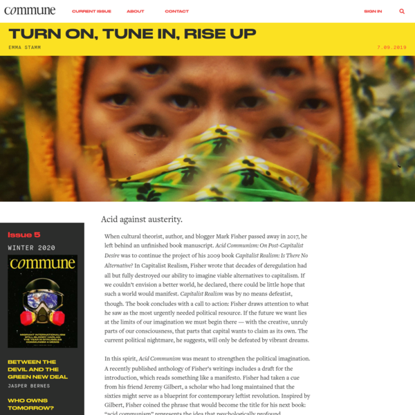 Turn On, Tune In, Rise Up | Commune