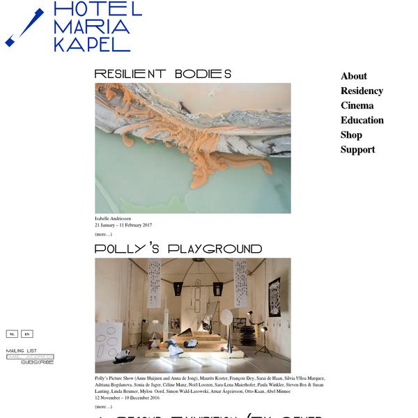 Hotel Maria Kapel - Residency, Expo, Cinema