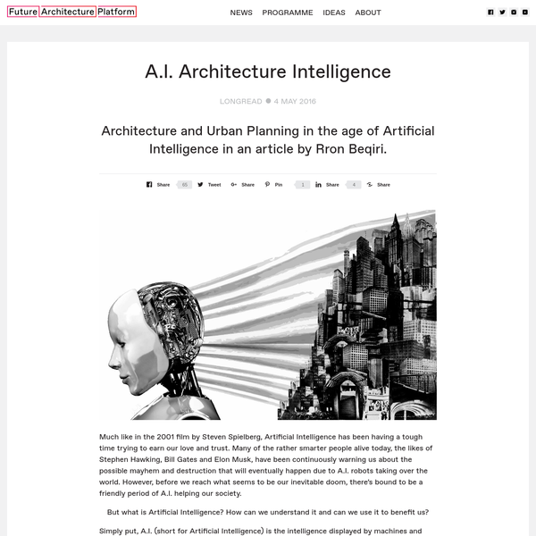 A.I. Architecture Intelligence