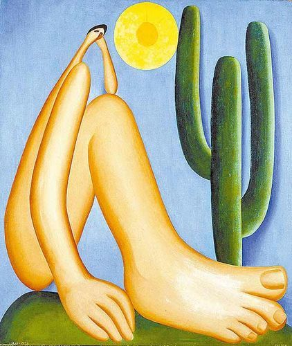 """""""Abaporu"""", 1928 (Tarsila do Amaral)"""