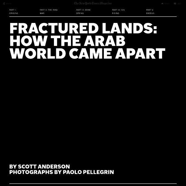 The story of more than a decade of war, terror and revolution in the Middle East, seen through the eyes of six people whose lives were changed forever.