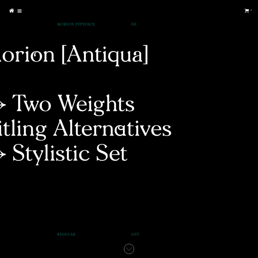 Free 12 page tabloid newspaper for the first 50 customers of the Morion Family. Since the first draft of Morion typeface in 2014, the aesthetic vision of Morio