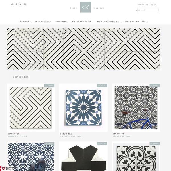 Finest Cement Tiles | Patterns & Colors