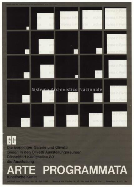 Silk screen process, brown/black/white, 1963