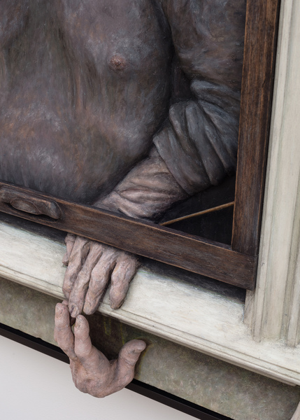 2020.09 Dan Herschlein: Dweller, The Boneless One (detail), 2020