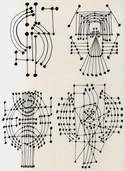 Pablo Picasso, Constellation Drawings, 1924