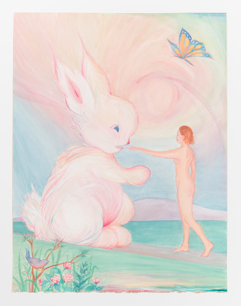 2017.01 Bonnie Lucas: Young Lady, Close Encounter, 1986