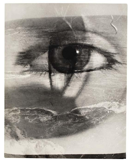 Maurice Tabard, Eye and Beach, 1949