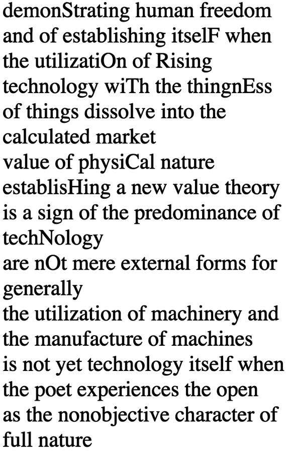 _Hypertext/Cybertext/Poetext_, 1996. http://programmatology.shadoof.net/works/hypercyberpoetext/hcp000.html