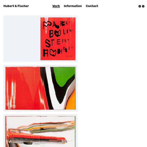 Parabolika - Hubert & Fischer   Graphic Design, Art Direction, Visual Communication