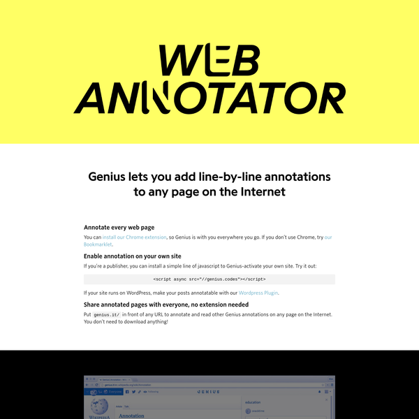 Are na / Web Annotation