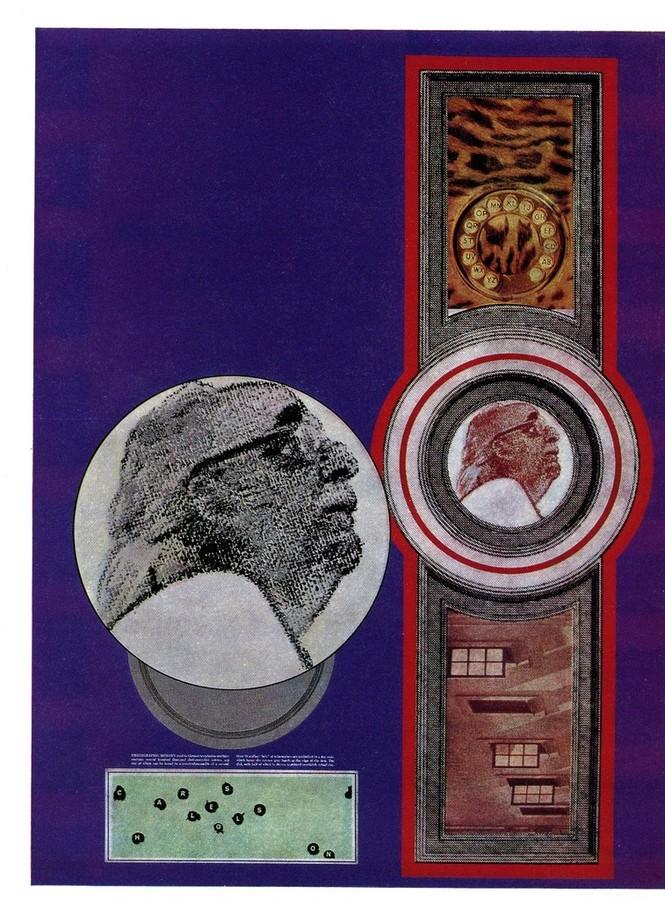 R.B. Kitaj, Charles Olson (1969)