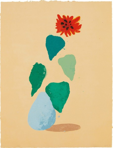 David Hockney, Sunflower (1978)