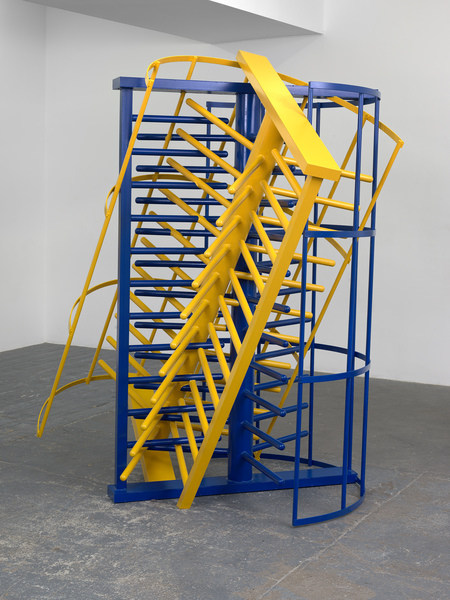 Borna Sammak, Two Full Height Turnstiles Stuck In Each Other, 2016
