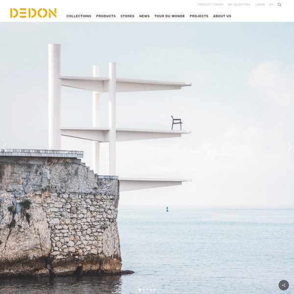 The official DEDON website: Handcrafted luxury outdoor furniture with over 20 years of DEDON experience.
