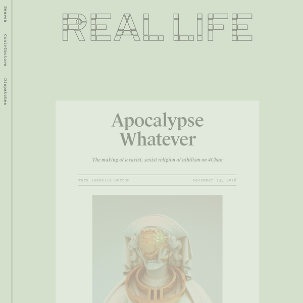 Apocalypse Whatever - Real Life
