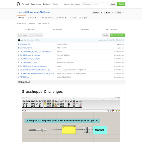 provolot/GrasshopperChallenges