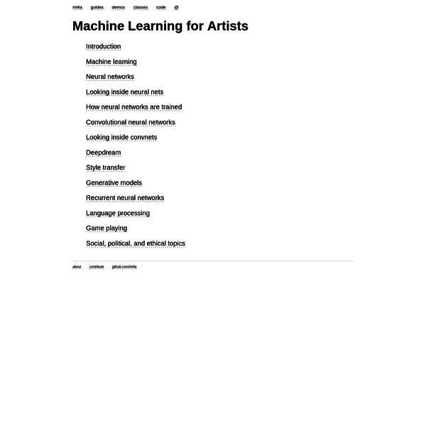 Are na / AI / ML