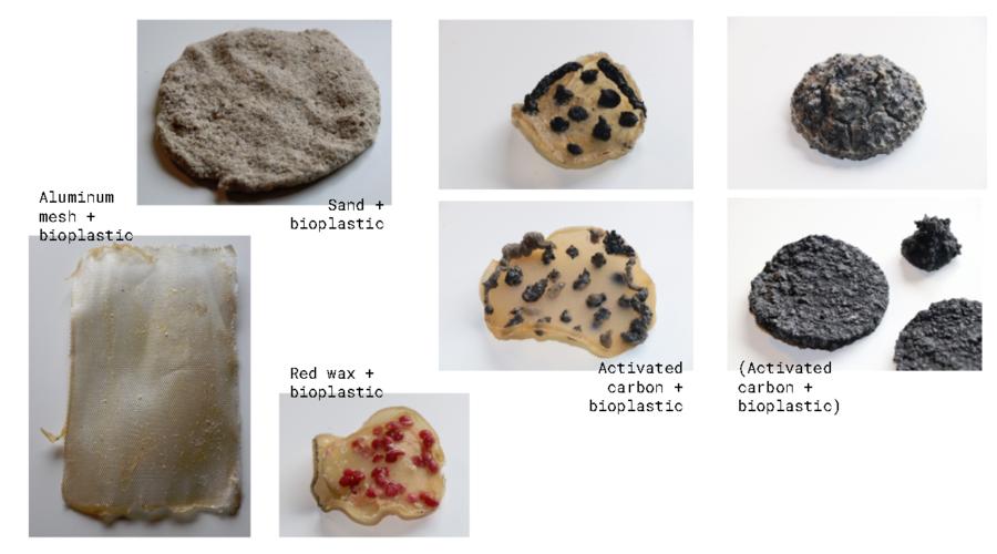Some bioplastic experiments
