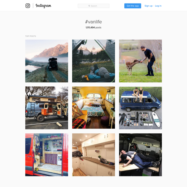 #vanlife * Instagram photos and videos