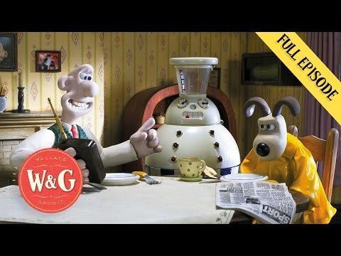 Autochef - Cracking Contraptions - Wallace and Gromit