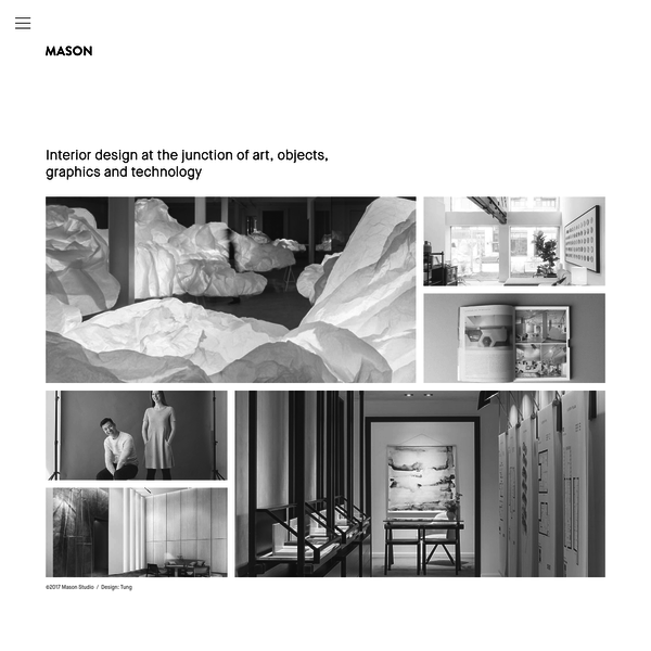 Mason Studio is a team of creative design professionals harnessing the power of a multi-disciplinary approach to create unified and captivating interior environments. They are based in Toronto, Canada.