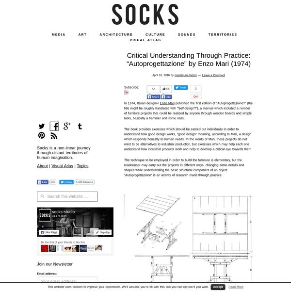 """Critical Understanding Through Practice: """"Autoprogettazione"""" by..."""